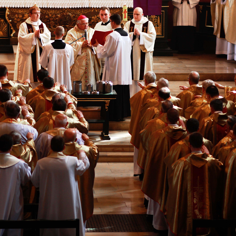 Msza z poświęceniem Krzyżma